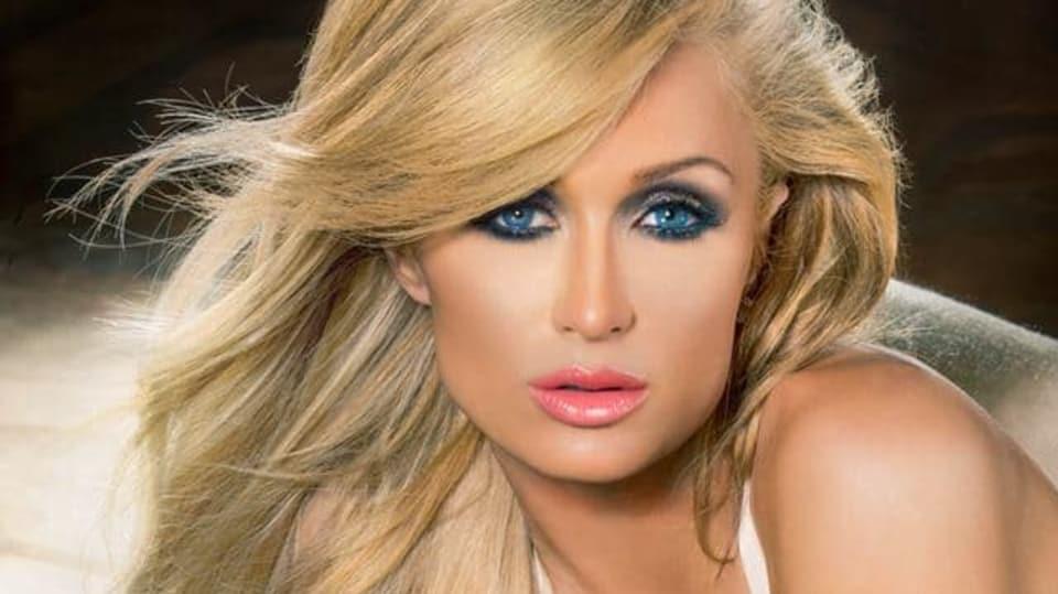 Paris Hilton pózuje