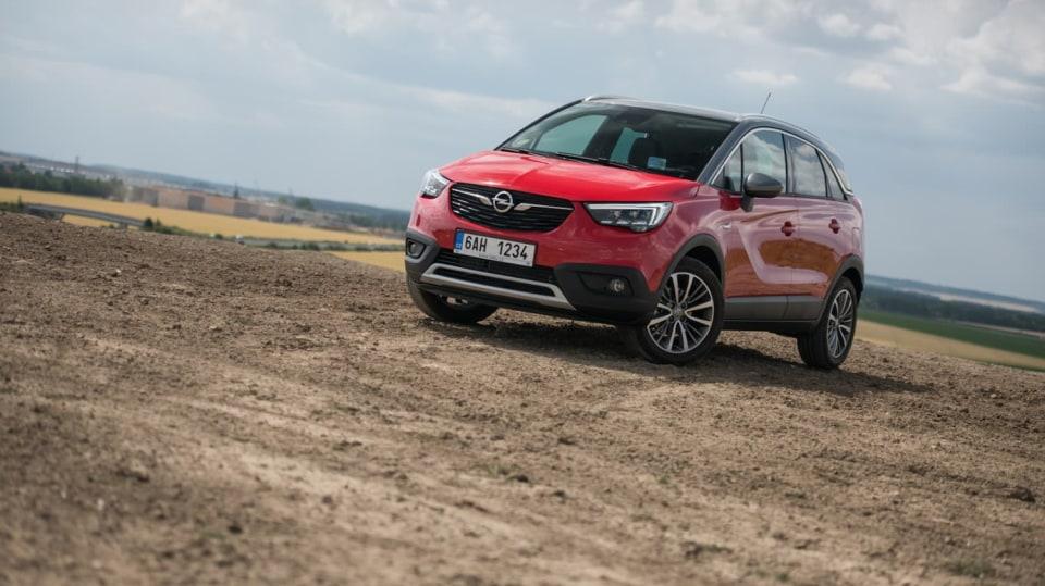 Opel Crossland X exteriér 2