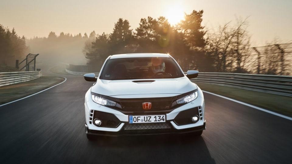Nejrychlejší předokolka je Civic Type R - Obrázek 8