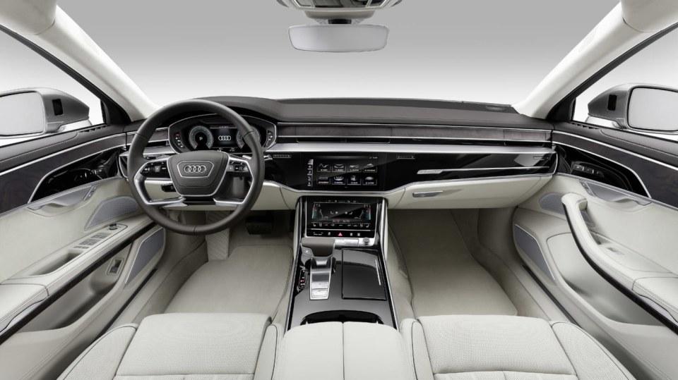 Nové Audi A8 v prodloužené luxusní verzi L. 2