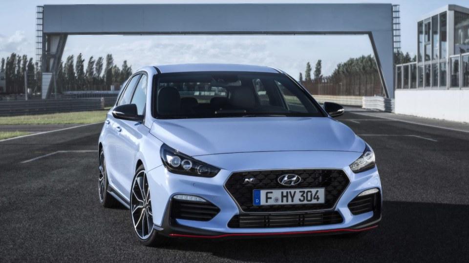 Prohlédněte si ostrý hatchback Hyundai i30 N do detailu. 5