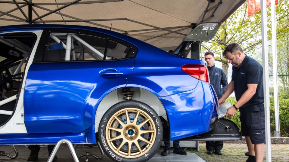 Speciál Subaru pro rekord na Nürburgringu 10