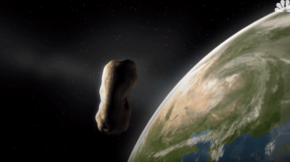 ilustrační foto- asteroid