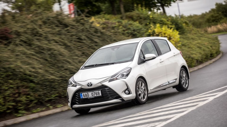 Toyota Yaris 1.5 VVT-iE jízda 7