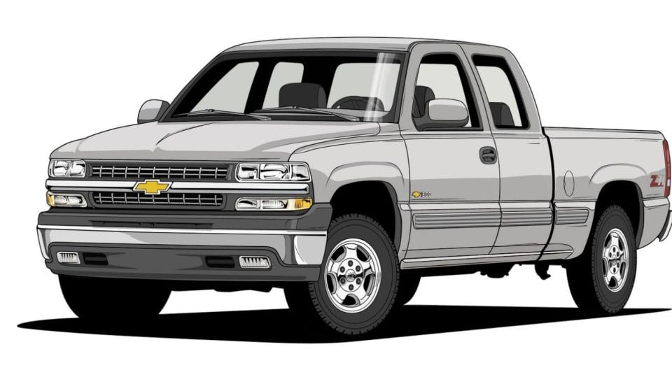 Historie pickupů od Chevroletu. 17