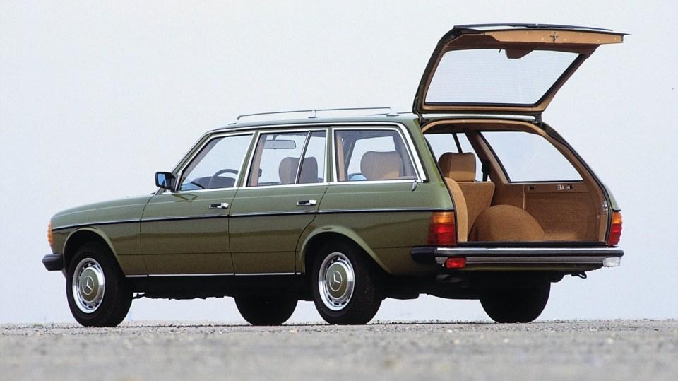 Mercedes 280: Mercedes-Benz 280 TE (1977): 200 km/h a z nuly na sto za 10,2s!