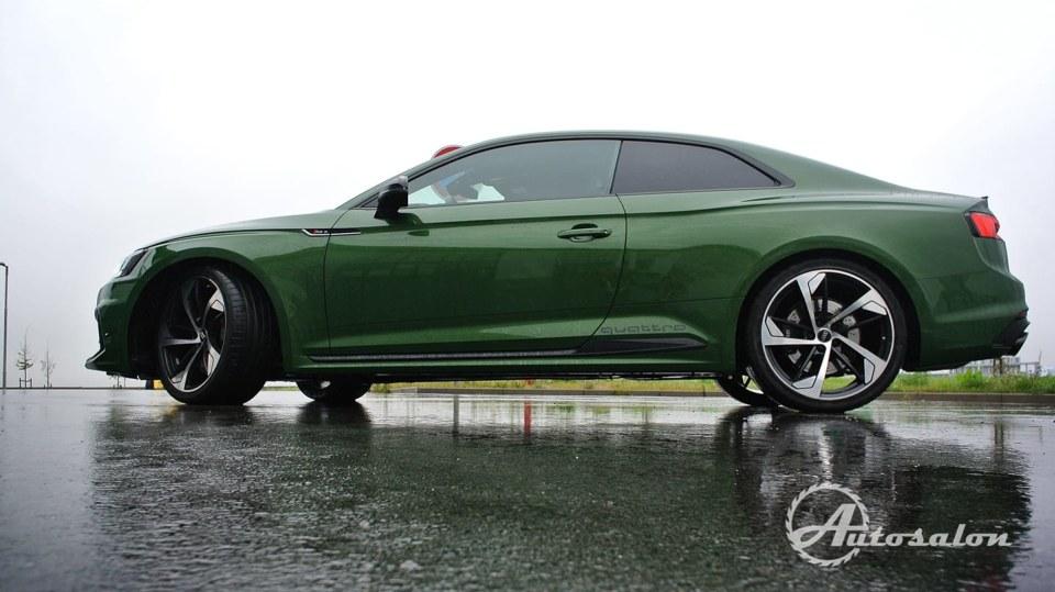 Audi RS5 - zelená, kterou budou zelení nenávidět 6