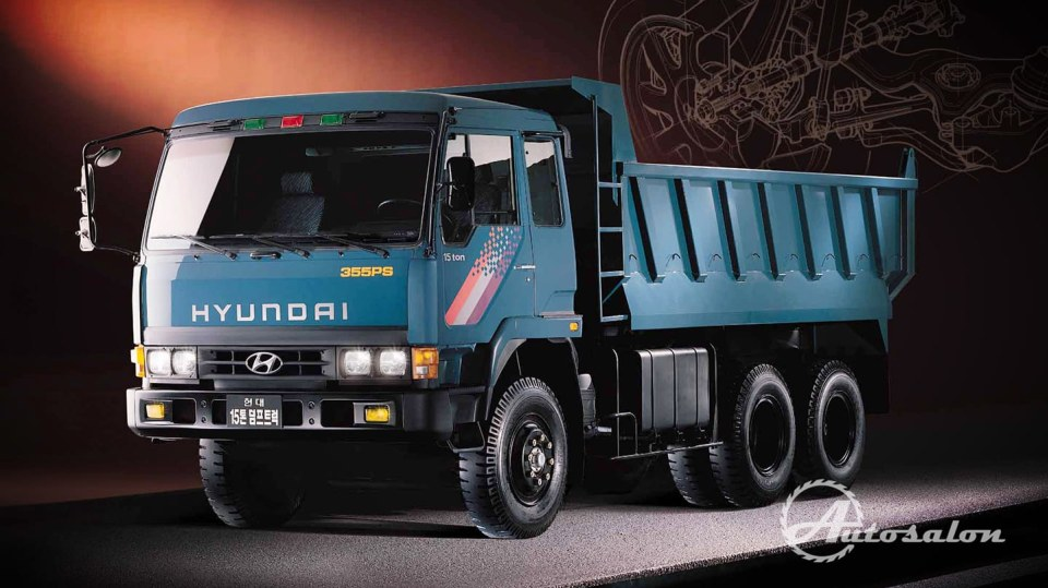 Hyundai Dumper 6x4