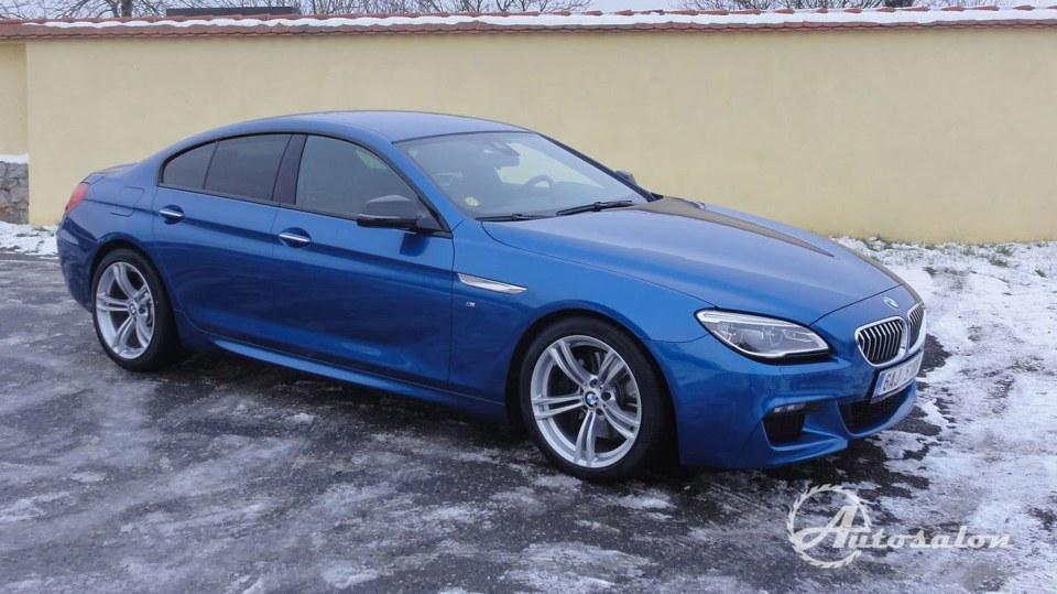BMW 640d Gran Coupé  2