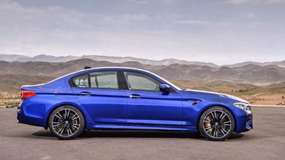 BMW M5 2018, 6