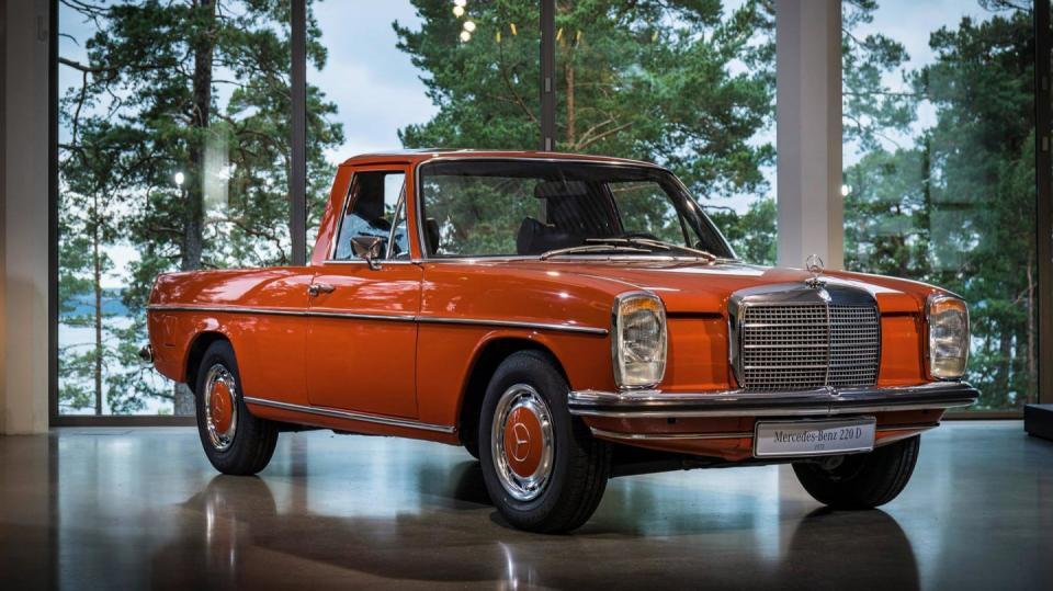 První pickup Mercedes vyrobil už před desítkami let.