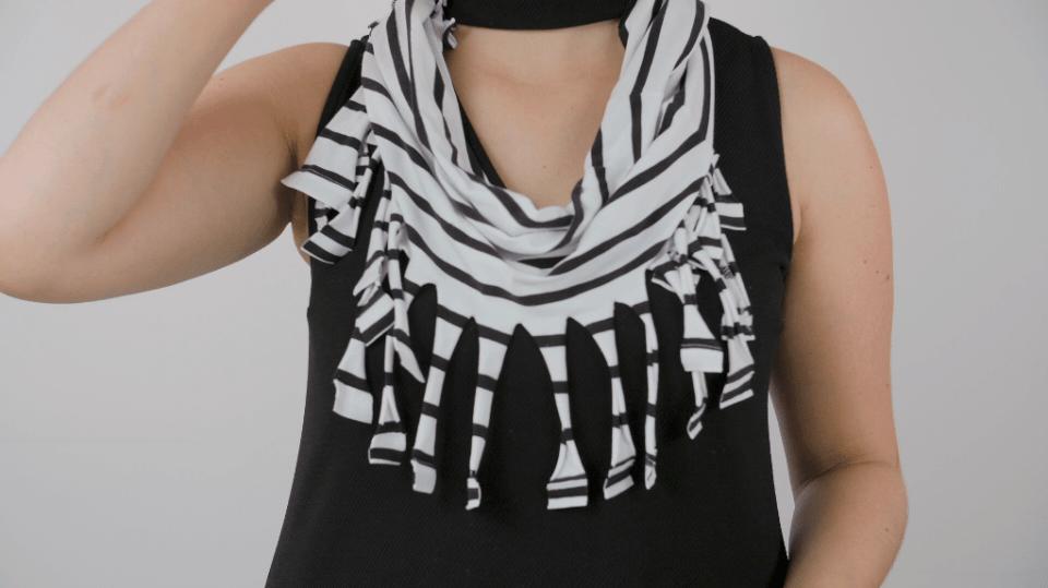 Jak využít staré tričko na výrobu nové šálky: Recyklace je v módě! 3