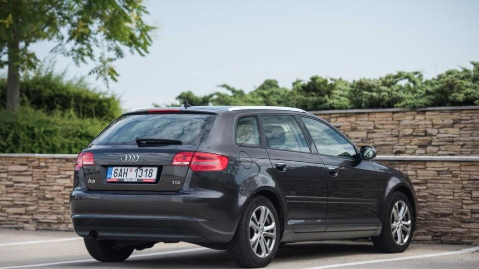 Audi A3 vypadá dobře i po šesti letech a 160 000 kilometrů. 3