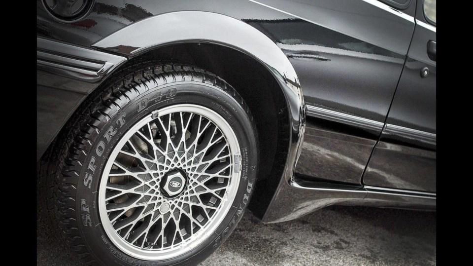 Ford Sierra RS500 Cosworth je vyhledávaná rarita. 8