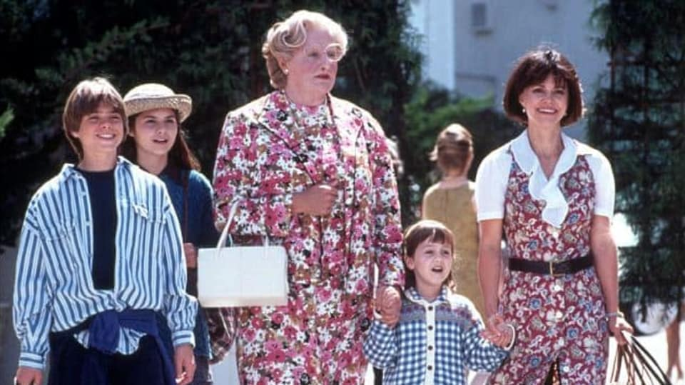 Tátu v sukni si zahrál Robin Williams