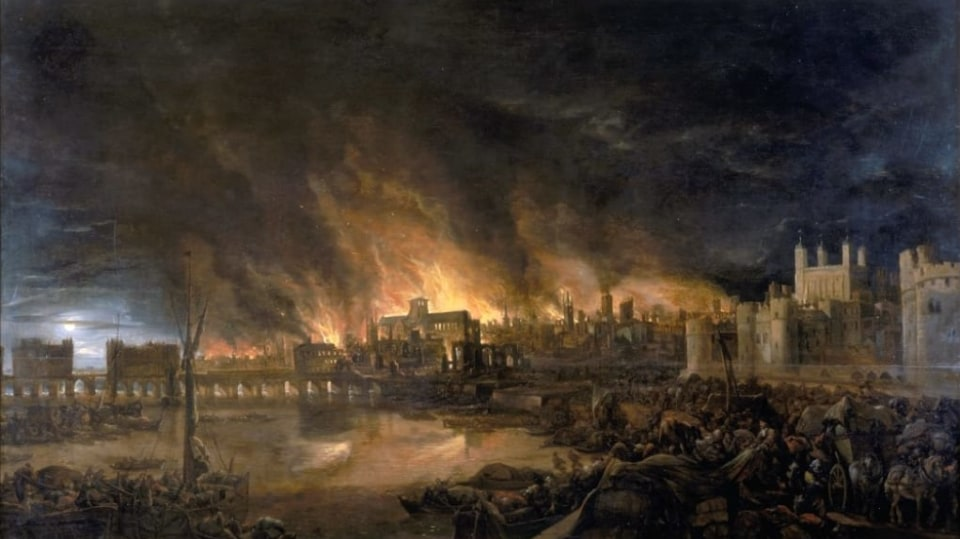 Velký požár Londýna