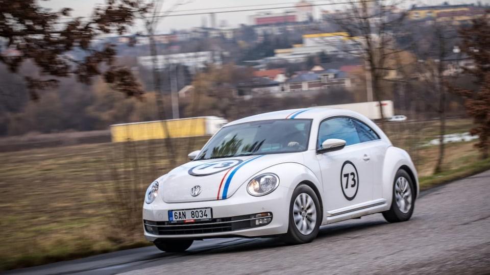 Volkswagen Beetle 1.2 TSI jízda 11