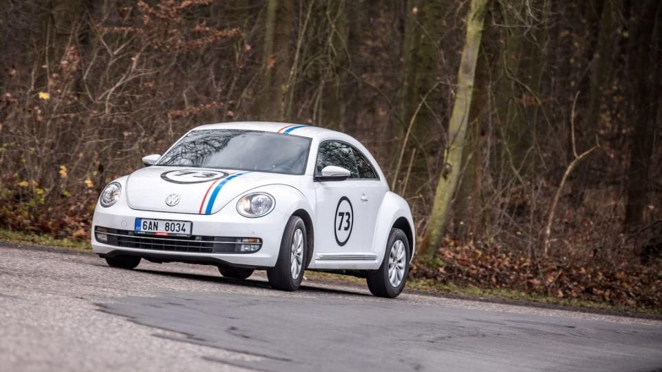 Volkswagen Beetle 1.2 TSI jízda 8