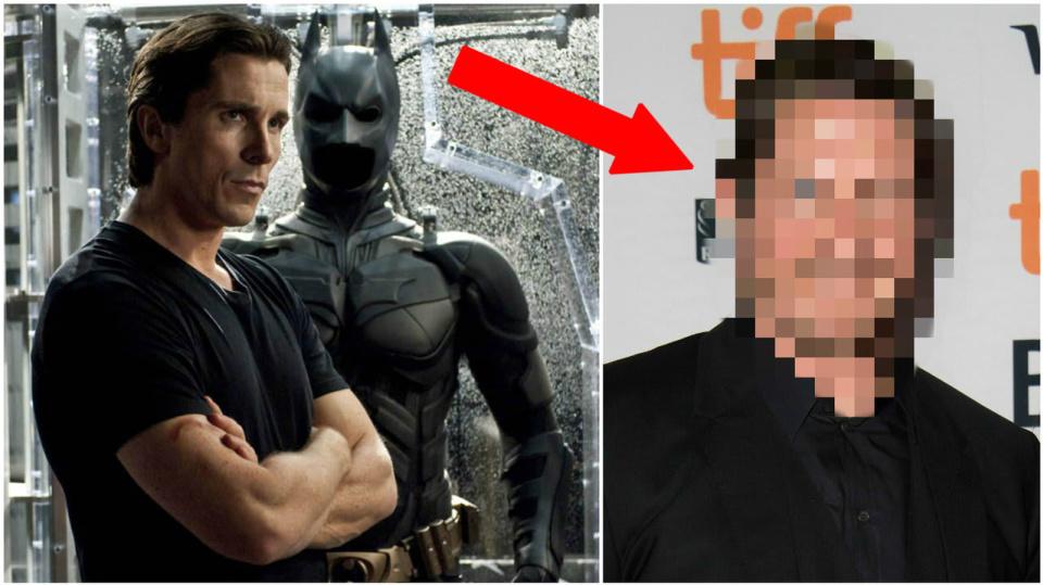 Batman ztloustnul, poznali byste ho vůbec?
