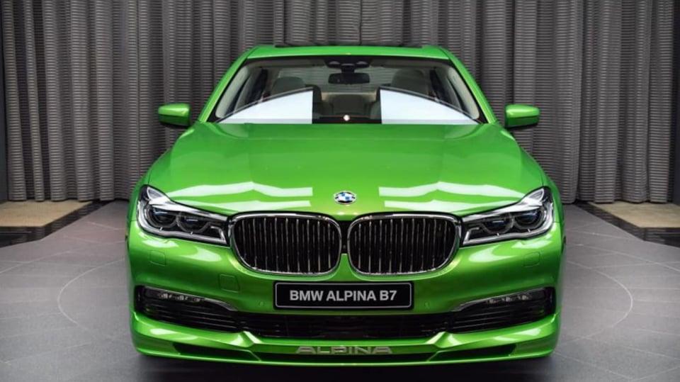 Alpina B7 Biturbo Java Green 2