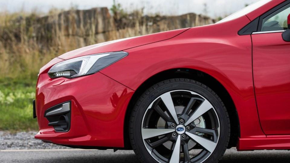 Nové Subaru Impreza je prostorný hatchback. 8