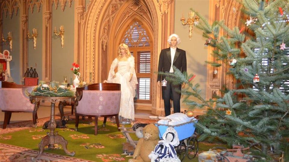 Vánoce na hradě