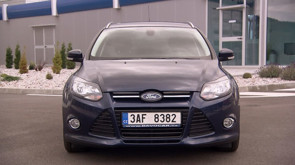 Test ojetiny Ford Focus 10