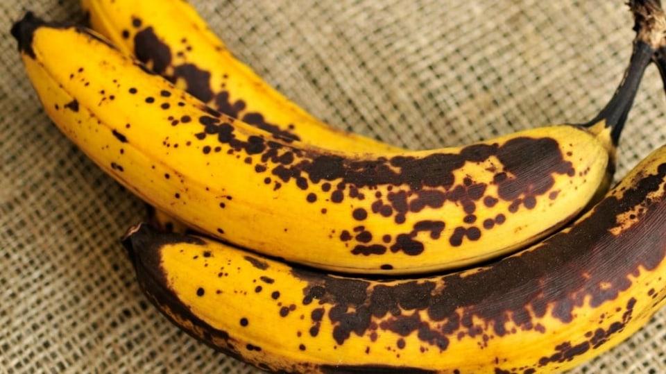 Jak zpracovat zbytky jídla: banány