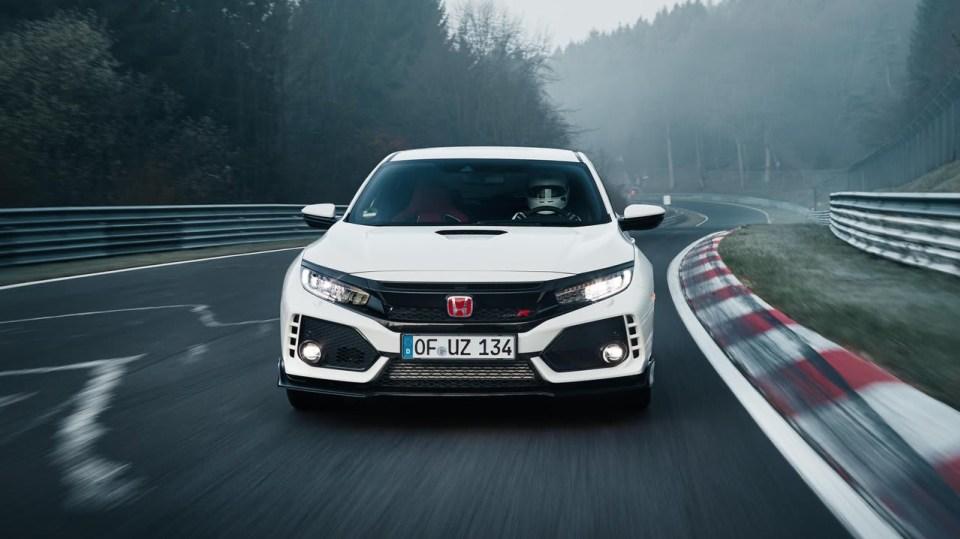 Nejrychlejší předokolka je Civic Type R - Obrázek 1