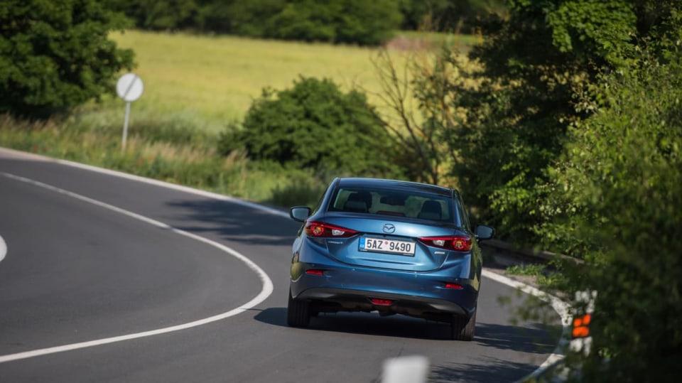 Mazda 3 má sportovní ambice. 3
