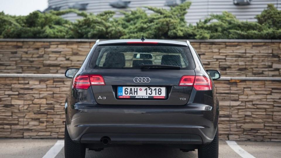 Audi A3 vypadá dobře i po šesti letech a 160 000 kilometrů. 4
