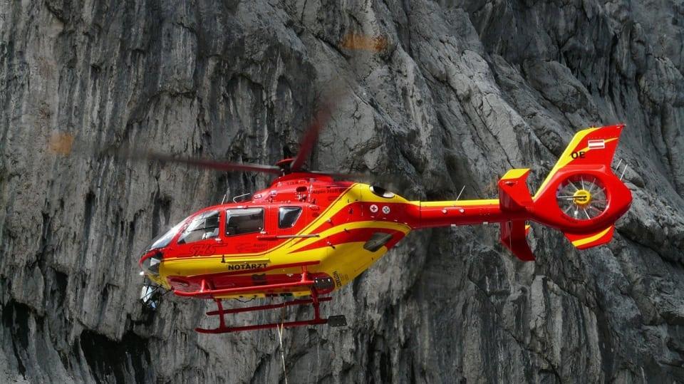 Záchranný vrtulník - pro mnohé jediná naděje