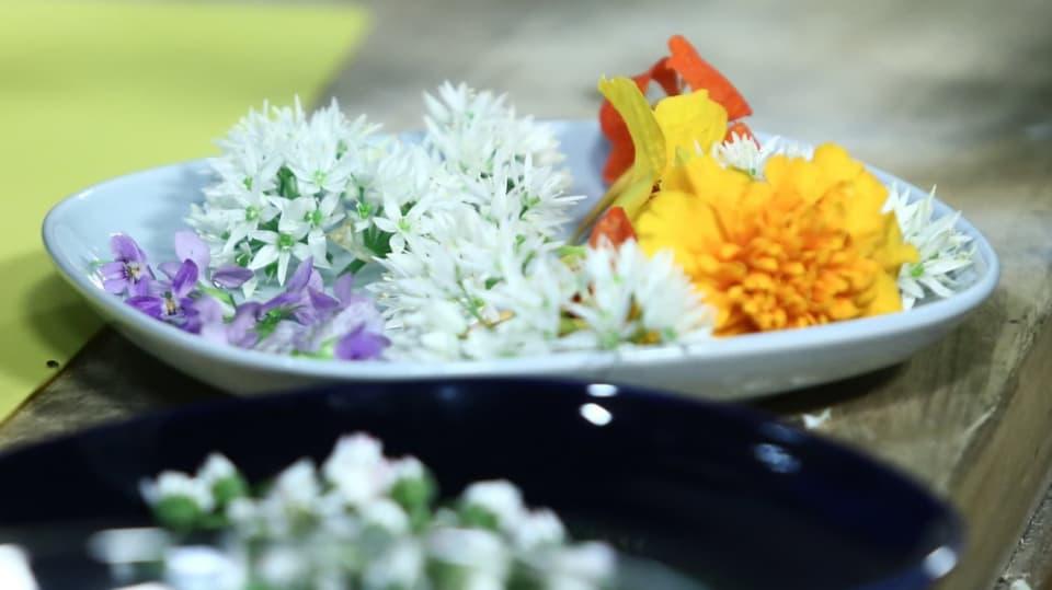 Jak vylepšit jídelníček barevnými květinami 2