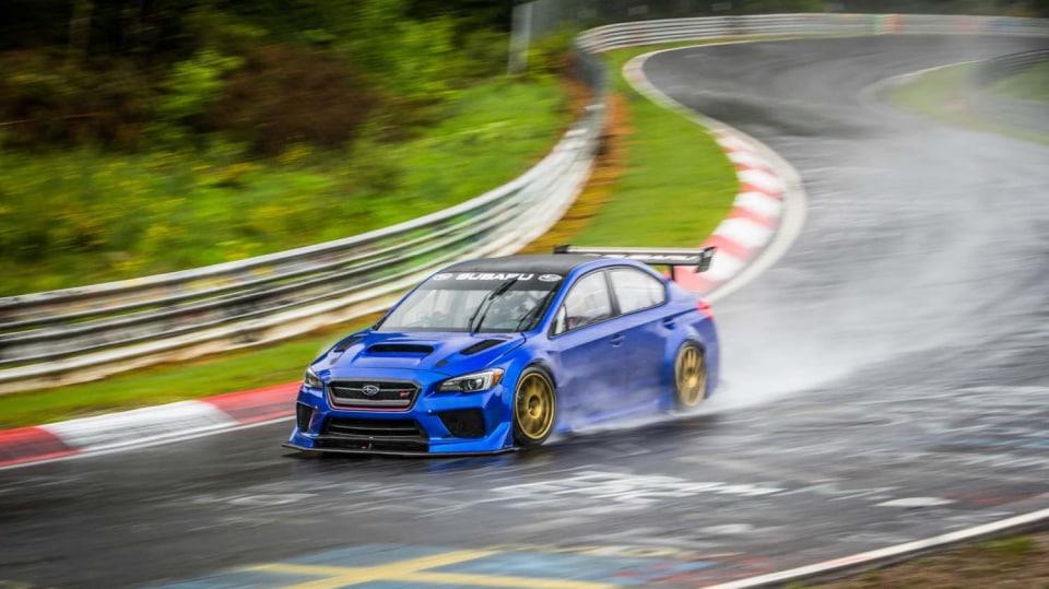 Speciál Subaru pro rekord na Nürburgringu 15