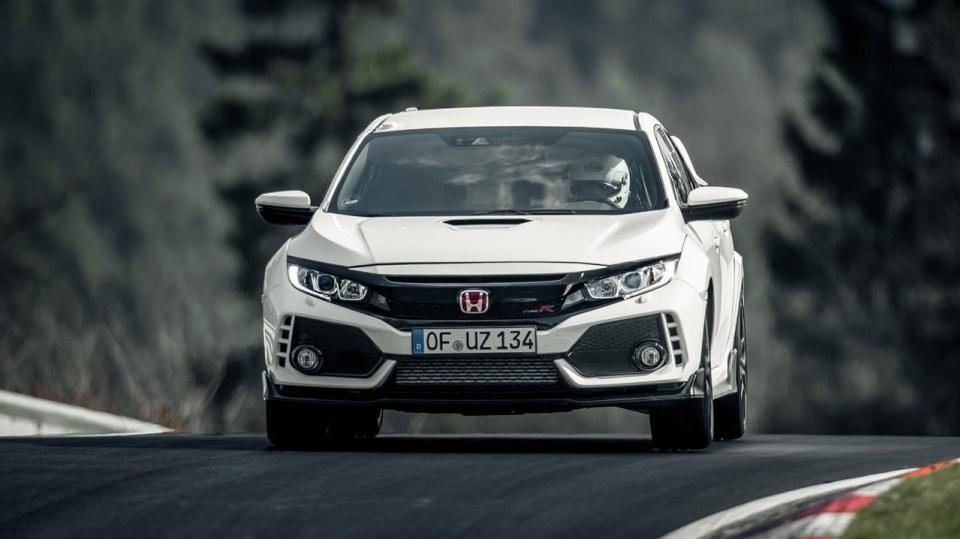 Nejrychlejší předokolka je Civic Type R - Obrázek 14