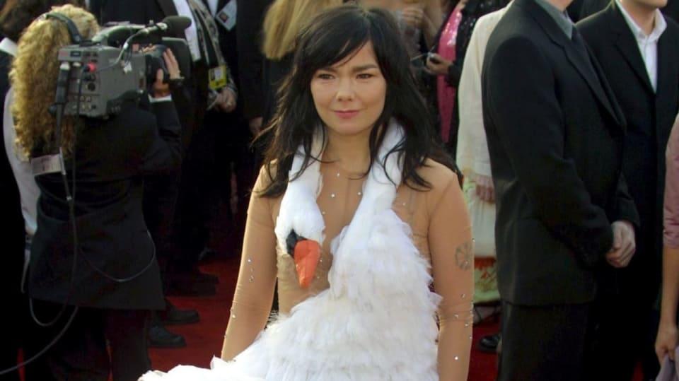 Björk nebyla jediná, kdo se postaral o skandál