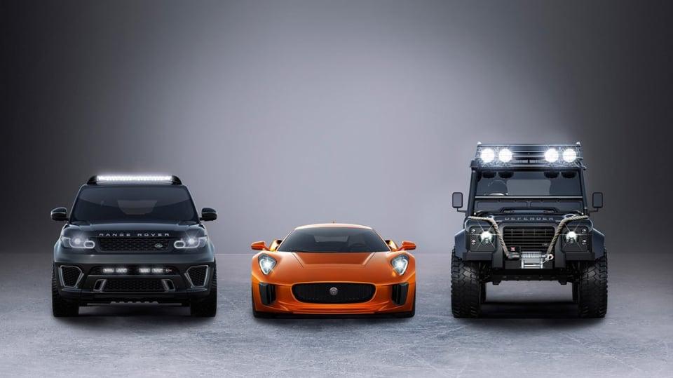 Auta z nového Jamese Bonda v akci - Obrázek 1