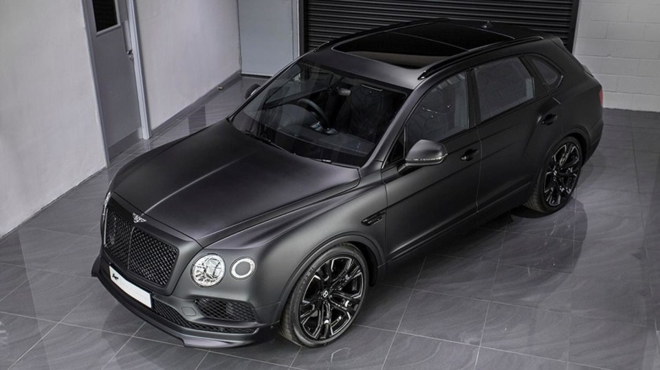 Bentley Bentayga od Kahn Design 2