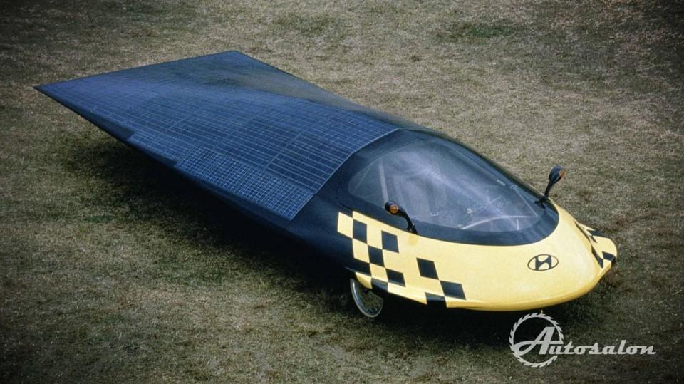 Hyundai Solar Car Prototype