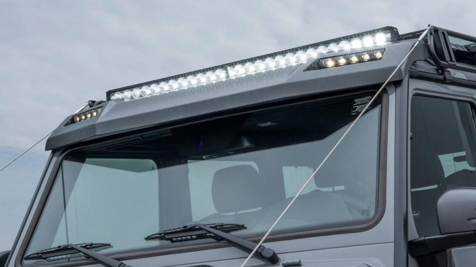 Mercedes G500 4x4² upravený od Brabusu 5