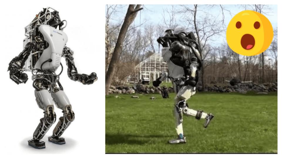 Robot Atlas si vyběhl na vzduch
