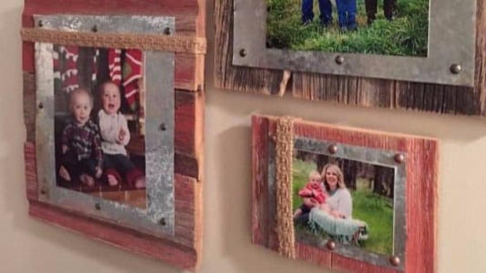 Vánoční dárek s duší: fotky v originálním rámečku