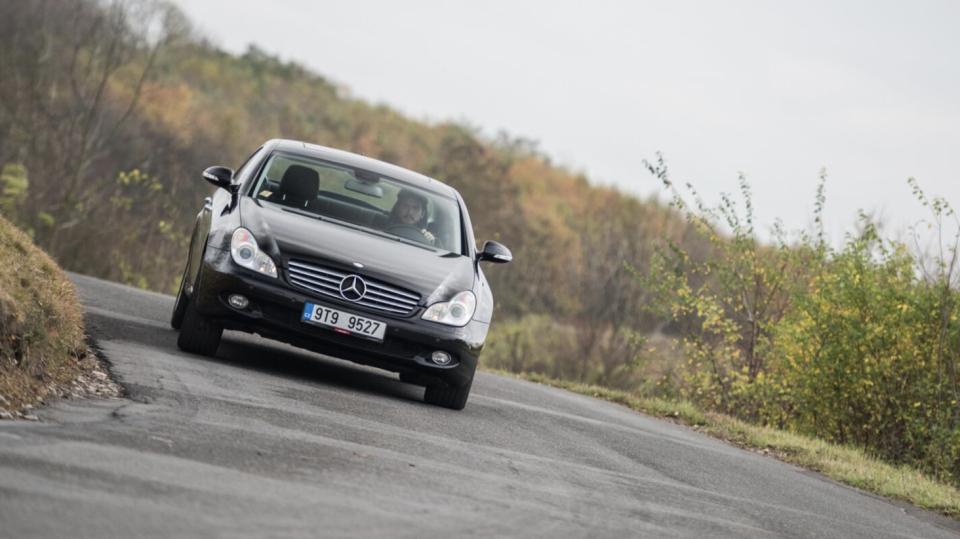 Mercedes-Benz CLS 320 CDI jízda 1