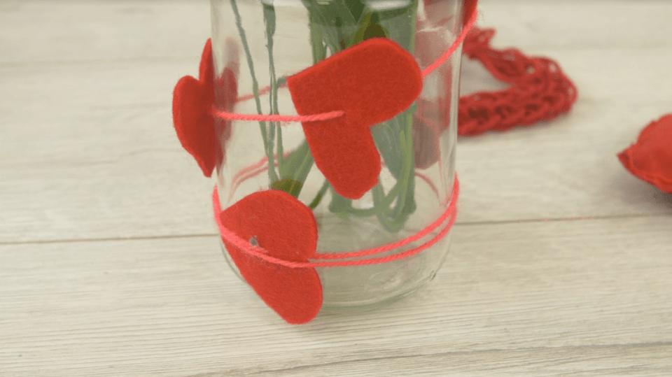 Valentýnská váza