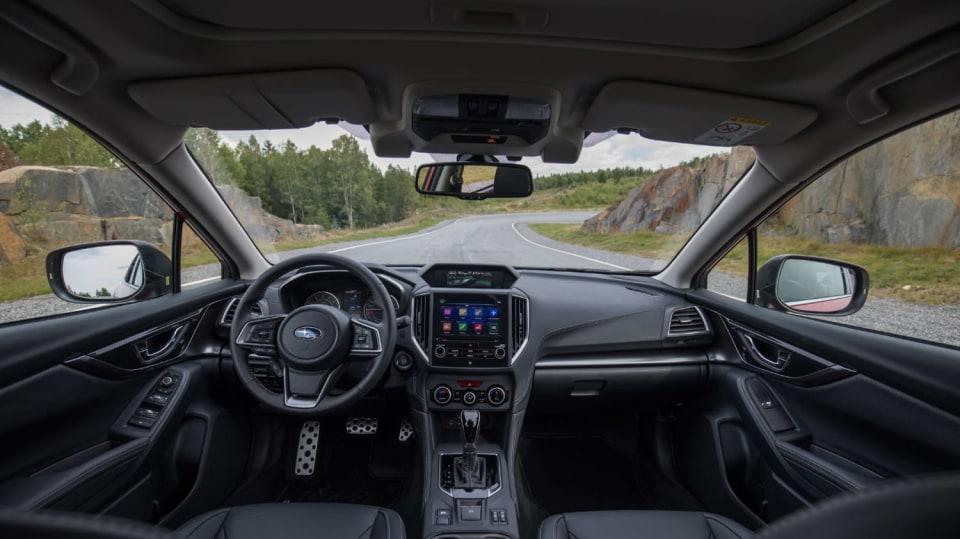 Nové Subaru Impreza je prostorný hatchback. 15