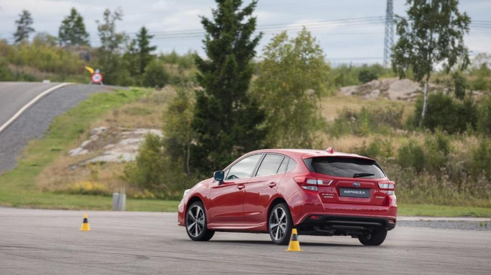 Nové Subaru Impreza vyniká skvělým podvozkem. 8