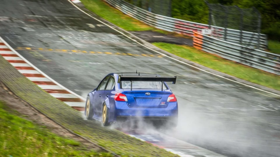 Speciál Subaru pro rekord na Nürburgringu 1