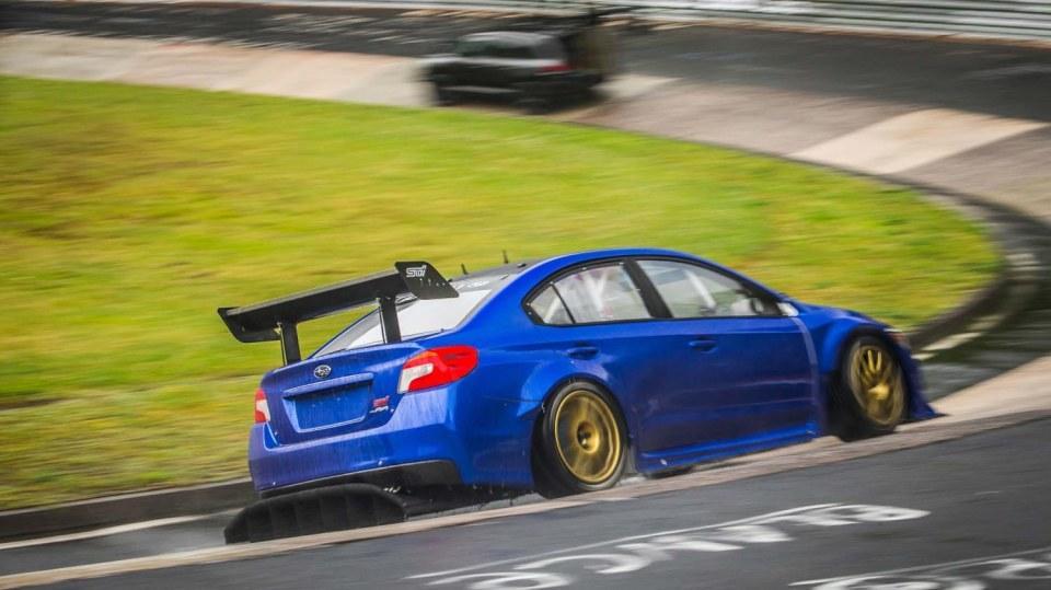 Speciál Subaru pro rekord na Nürburgringu 2