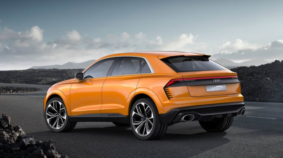 Koncept Audi Q8. 5