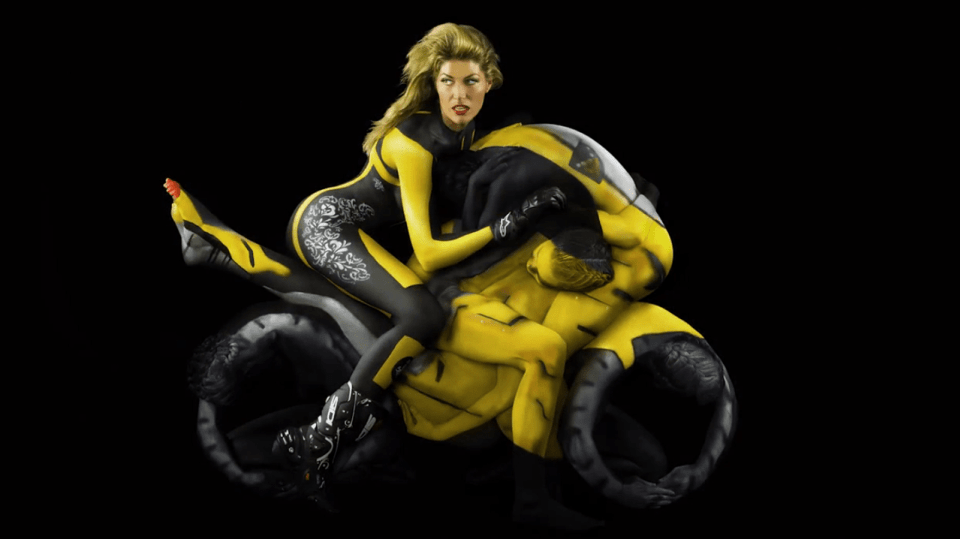 Motorcycles Bodypainting